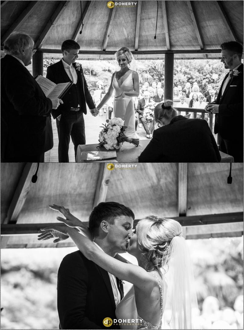 Wedding Ceremony at Moxhull Hall