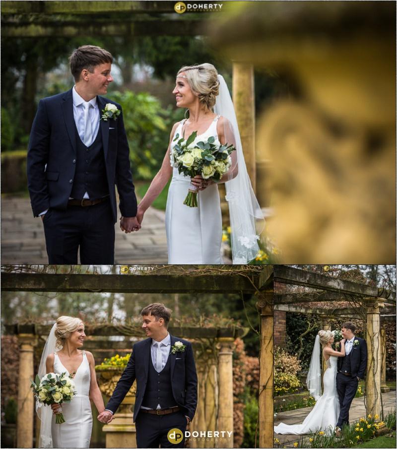 Moxhull Hall Wedding Bride and Groom