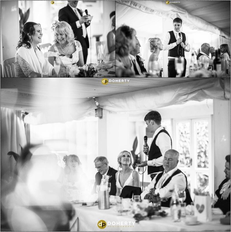 Moxhull Hall Wedding Speeches