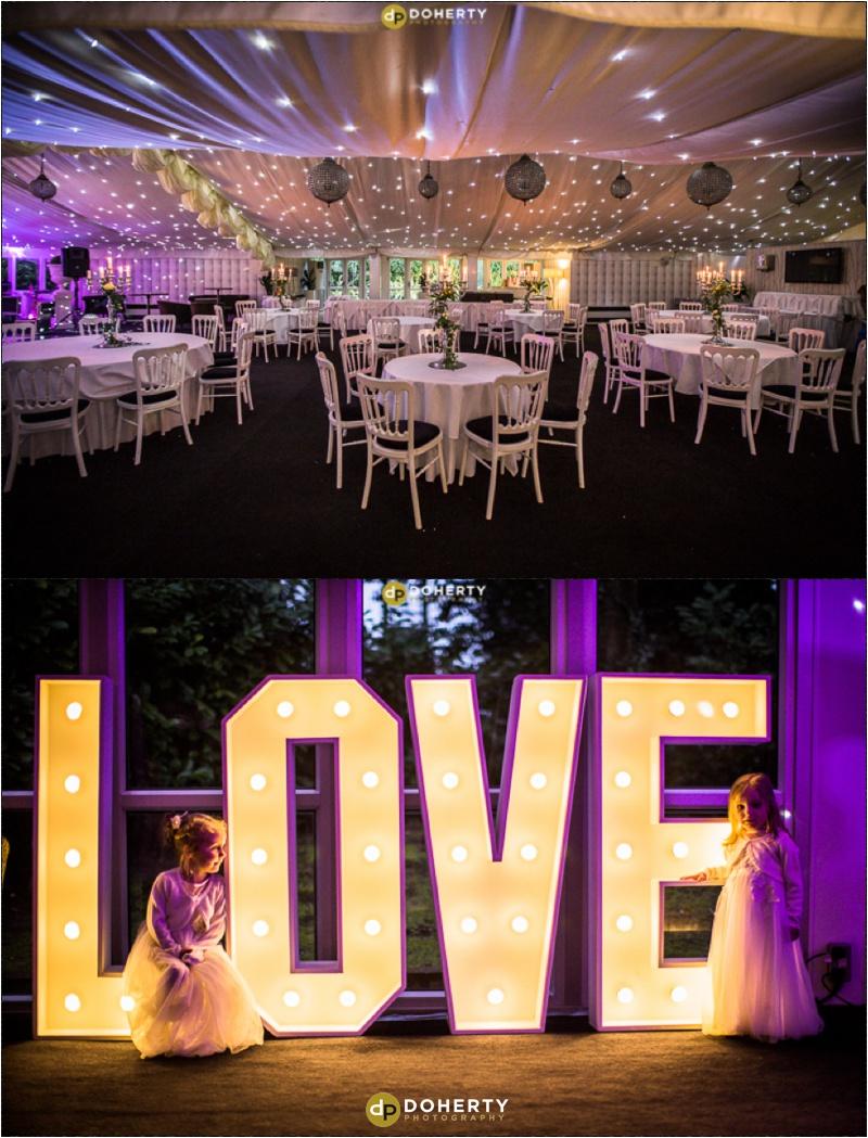 Moxhull Hall Wedding Marquee