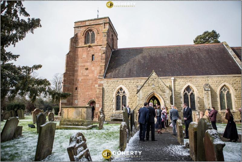 Church Wedding near Sutton Coldfield