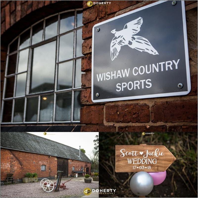Wishaw Country Sports Barn Wedding