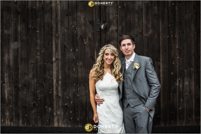 Wishaw Country Sports Wedding couple