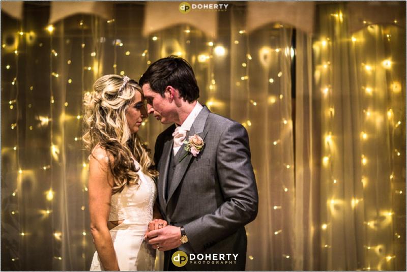 Wishaw Country Sports Wedding Bride and Groom