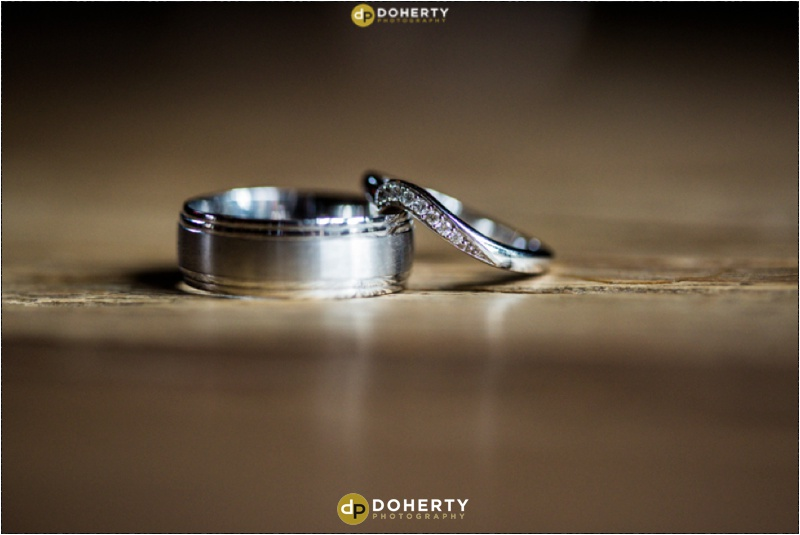 Shustoke Barn Wedding rings
