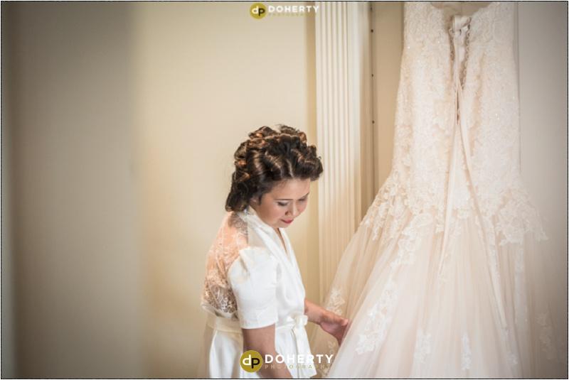 Warwick House Bride and dress