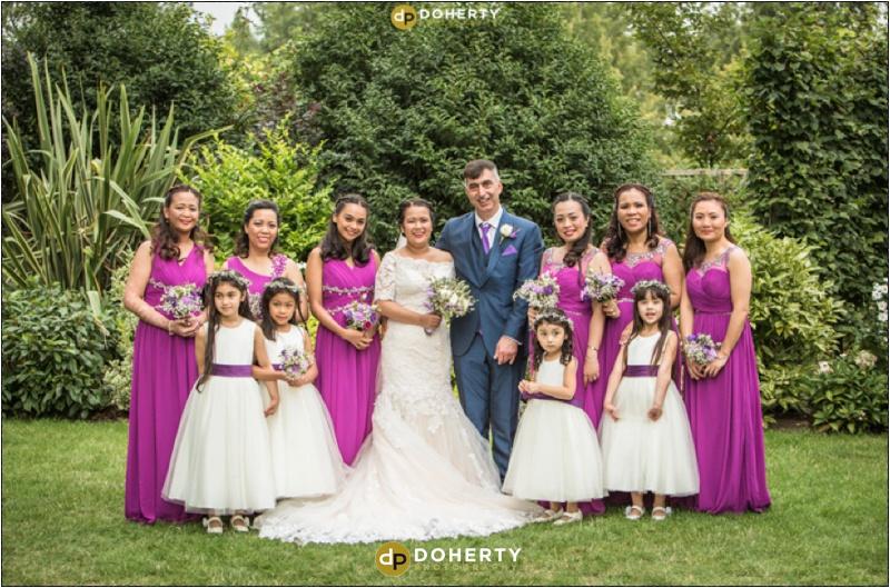 Warwick House Bridal Party