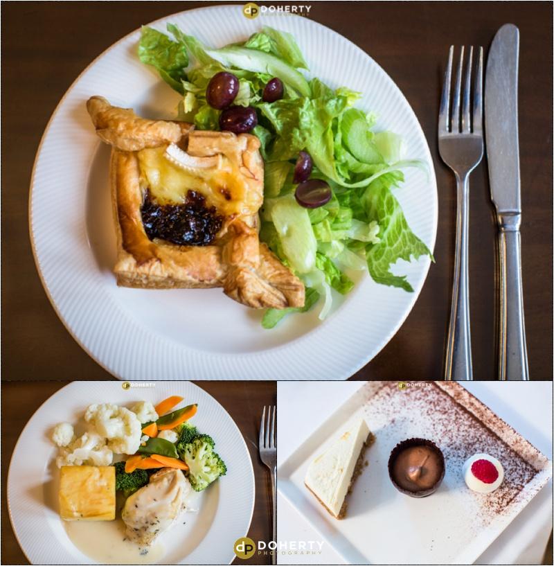 Warwick House wedding food