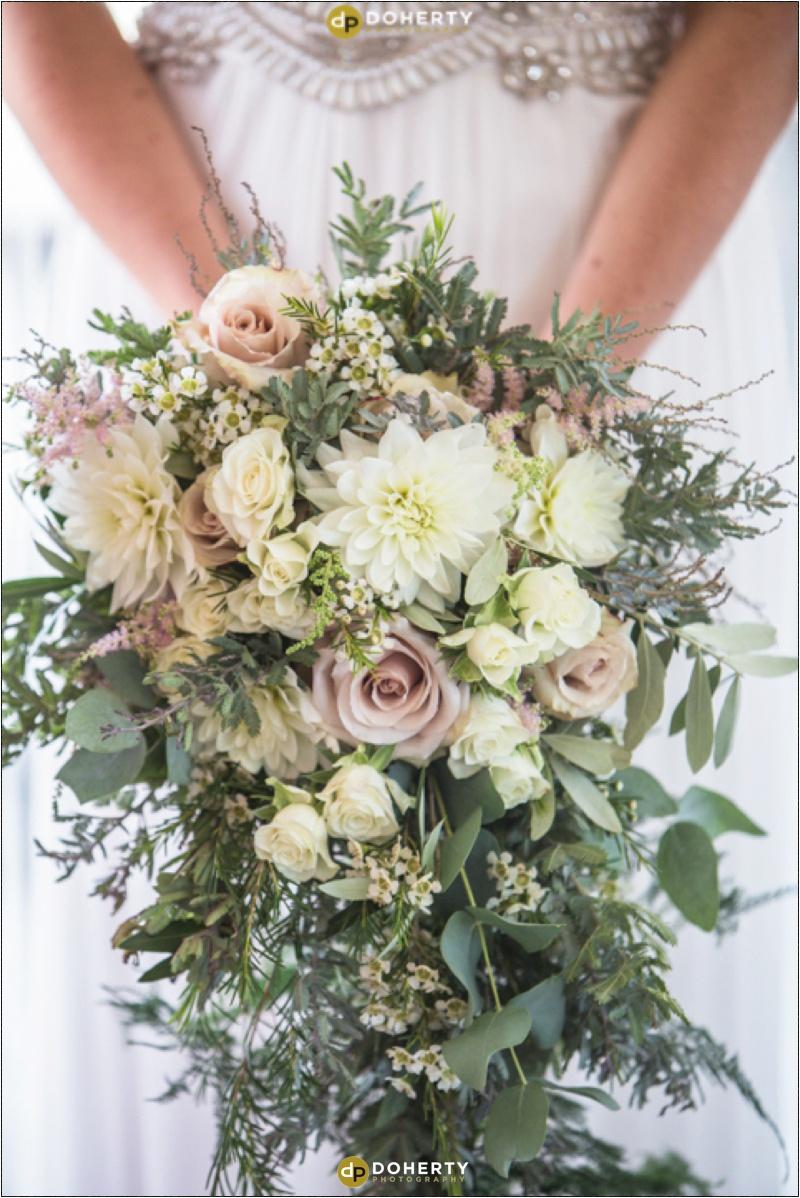 Swallows Nest Barn Wedding Bride Bouquet