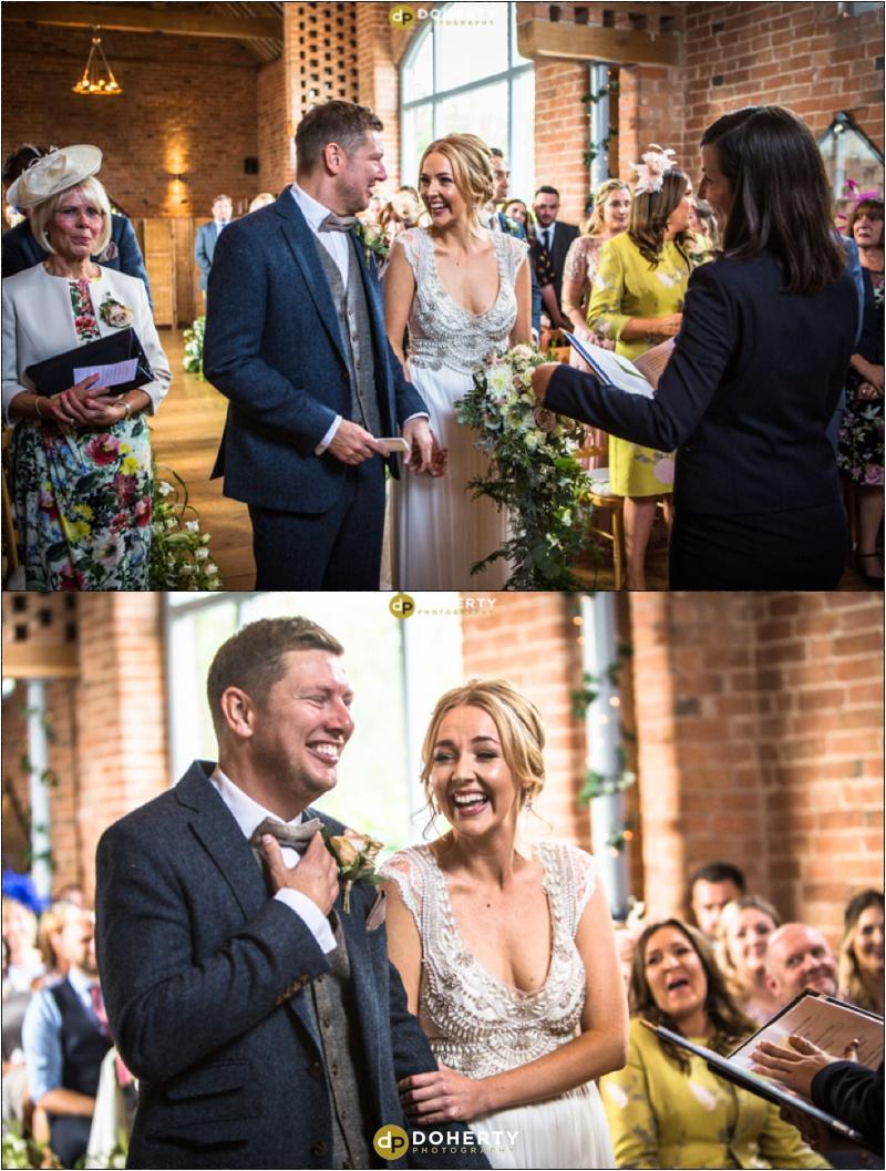 Swallows Nest Barn Wedding Laughter