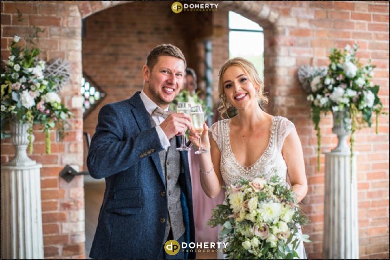 Swallows Nest Barn married couple