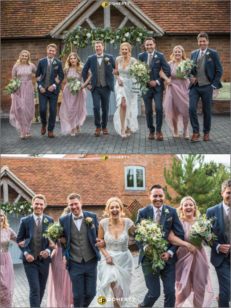Swallows Nest Barn Bridal Party