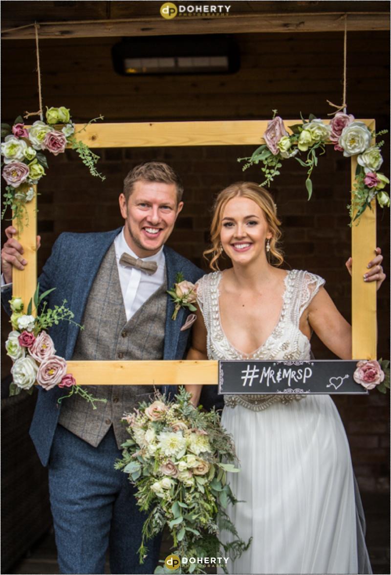 Swallows Nest Barn Wedding Portrait