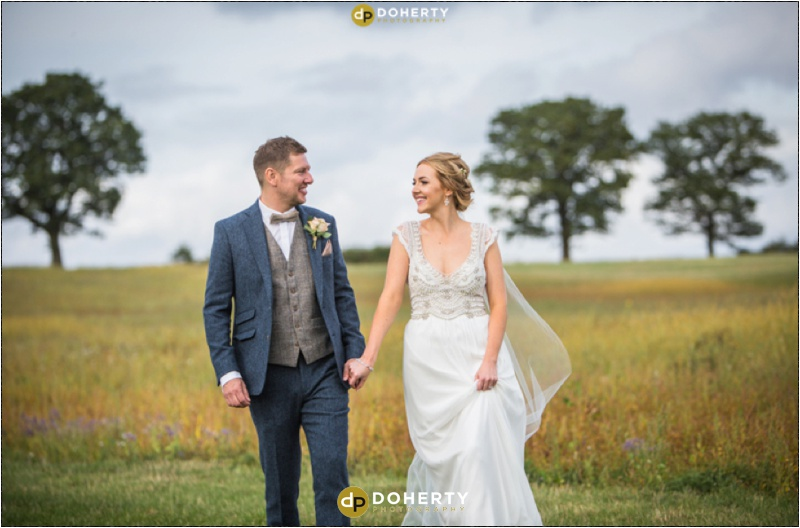 Swallows Nest Barn Wedding Couple