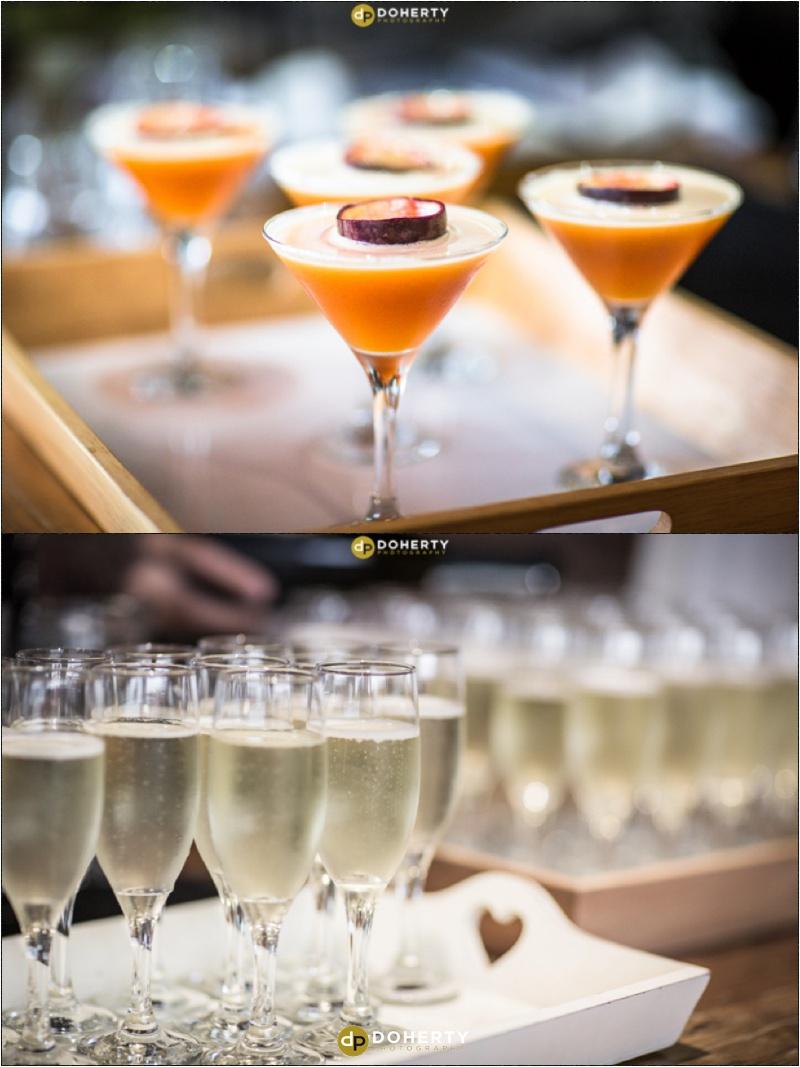 Swallows Nest Barn Wedding Drinks