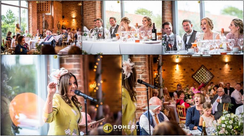 Swallows Nest Barn Wedding Speeches