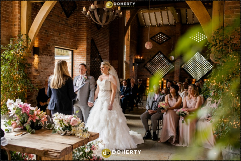 Wedding Ceremony - Shustoke Barn