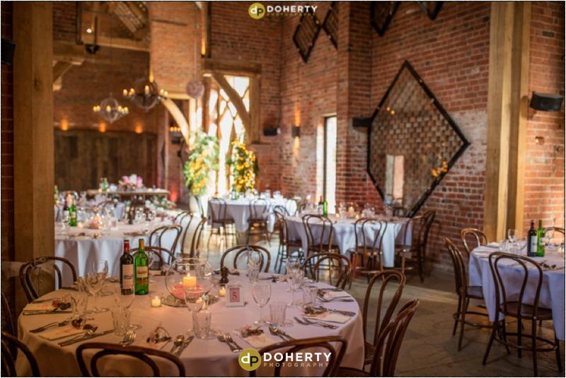 Wedding Venue Set-up- Shustoke Barn
