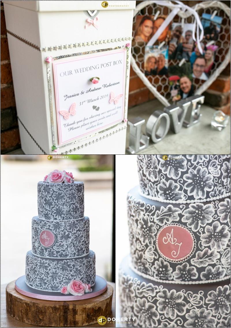 Wedding Cake - Shustoke Barn
