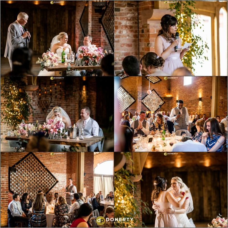 Wedding Speeches - Shustoke Barn