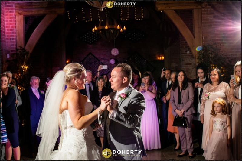 Wedding First dance - Shustoke Barn