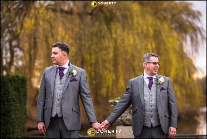 Coombe Abbey Same-Sex Wedding couple