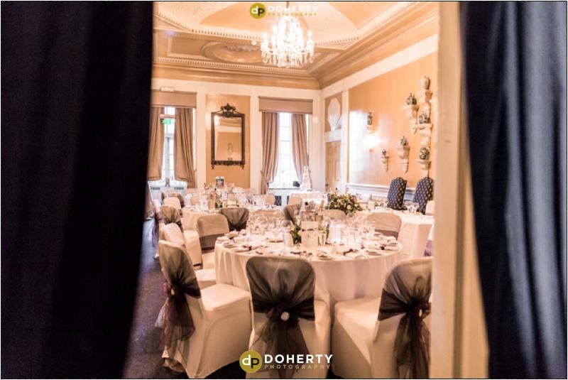 Coombe Abbey Wedding Venue room setup