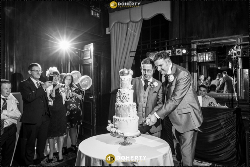 Coombe Abbey Same-Sex Cake Cutting Wedding