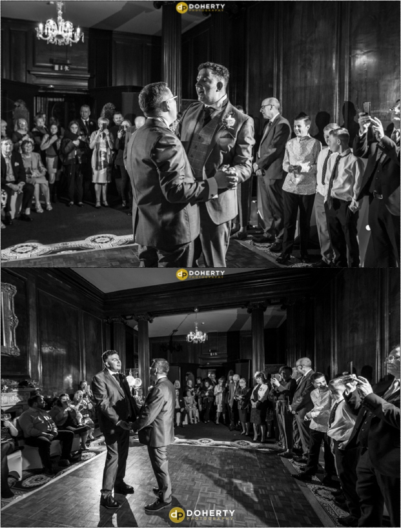 Coombe Abbey Same-Sex Wedding dancing