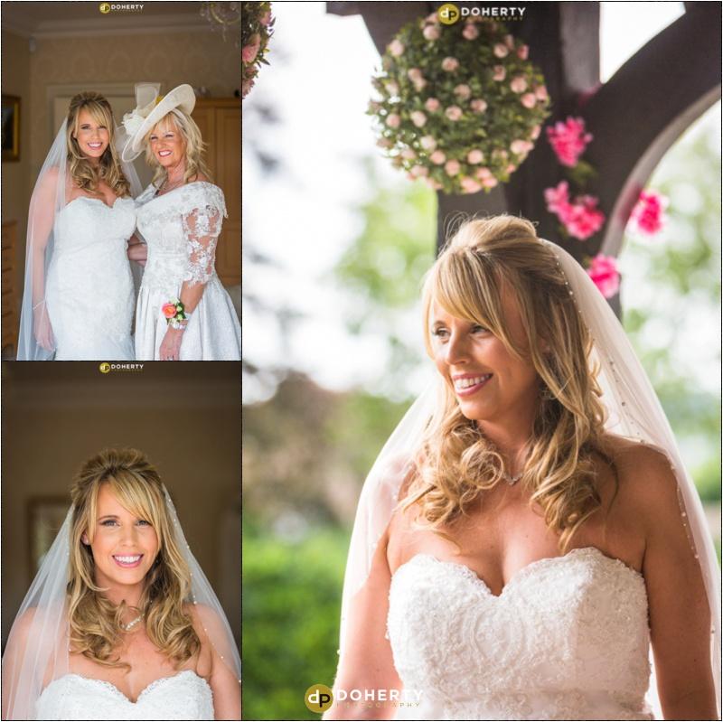 Windmill Village Wedding Bride ready