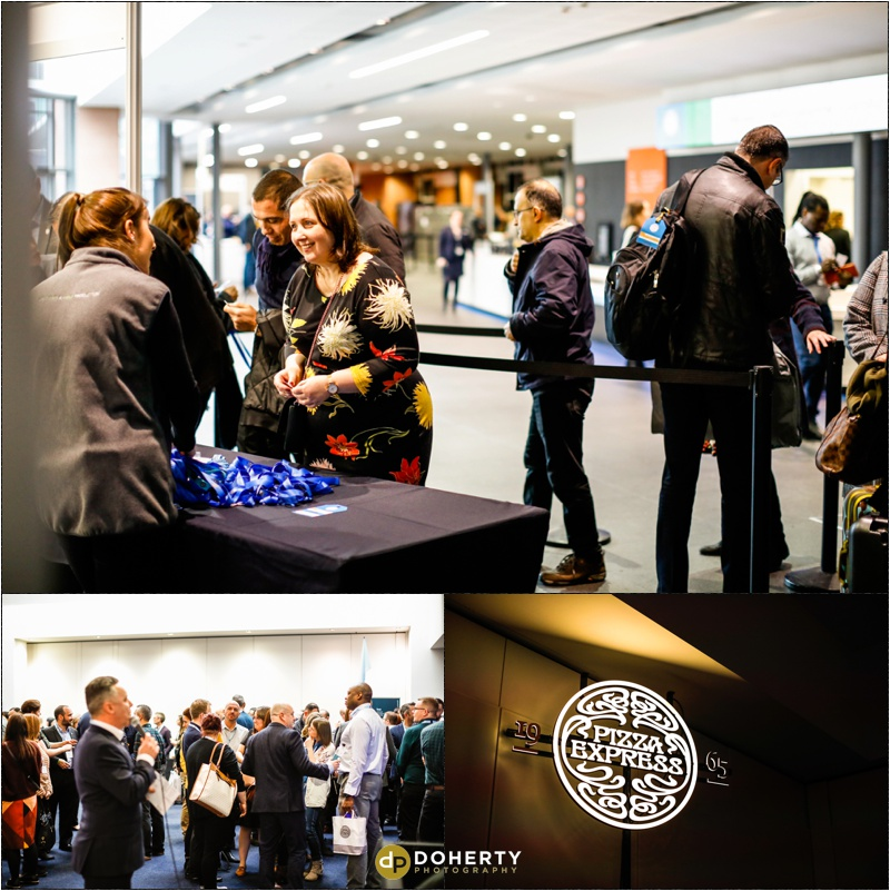 Conference Photography - Pizza Express