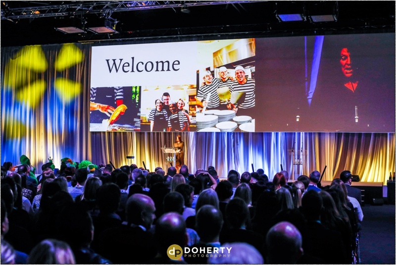 Corporate Photography - Pizza Express Speakers