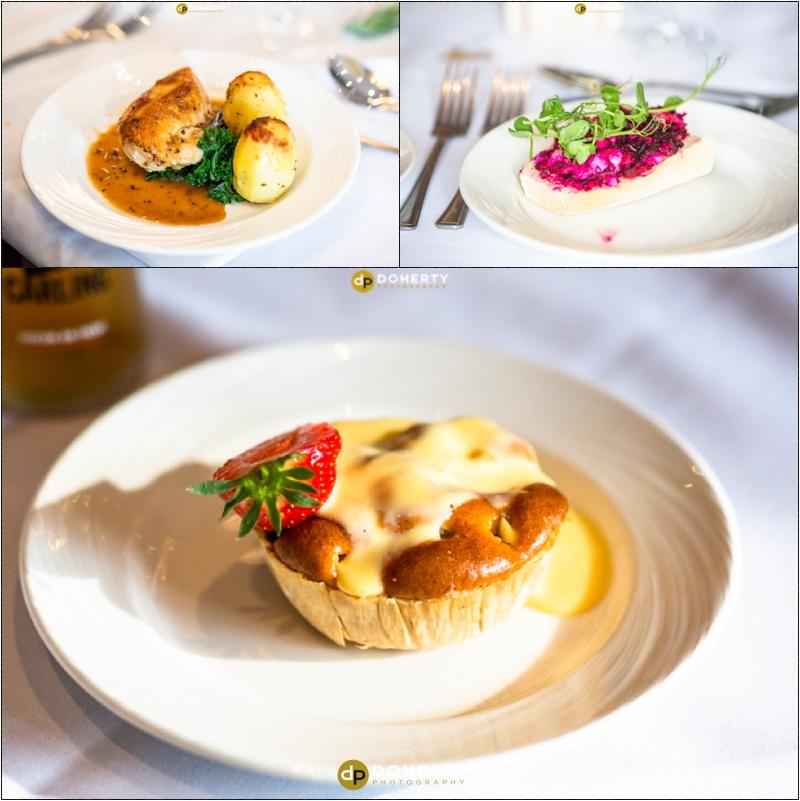 Wedding Food - Best Western Windmill Village Hotel