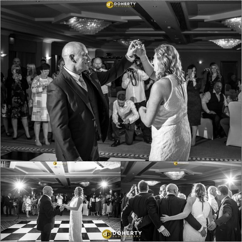 Best Western Windmill Village bride and groom first dance