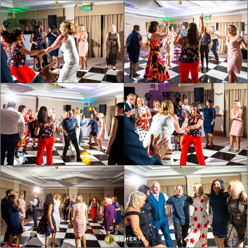Wedding Photography - Best Western Windmill Village Hotel - Dancing and Party photos