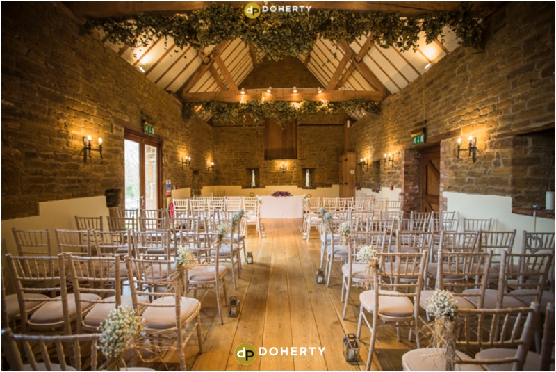 Crockwell Farm Vaulted Hall for ceremony