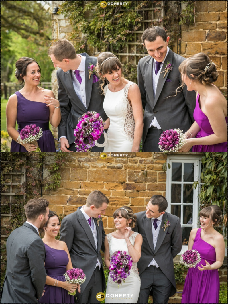 Crockwell Farm - Bridal Party having fun
