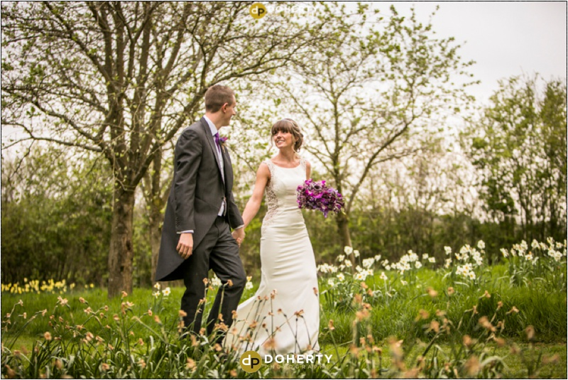 Crockwell Farm - Bride and Groom in Orchard