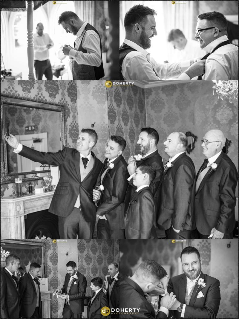 Warwick house Wedding Groomsmen
