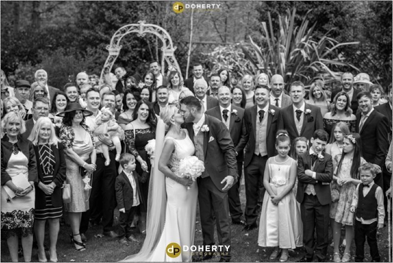 Warwick house Wedding Kiss