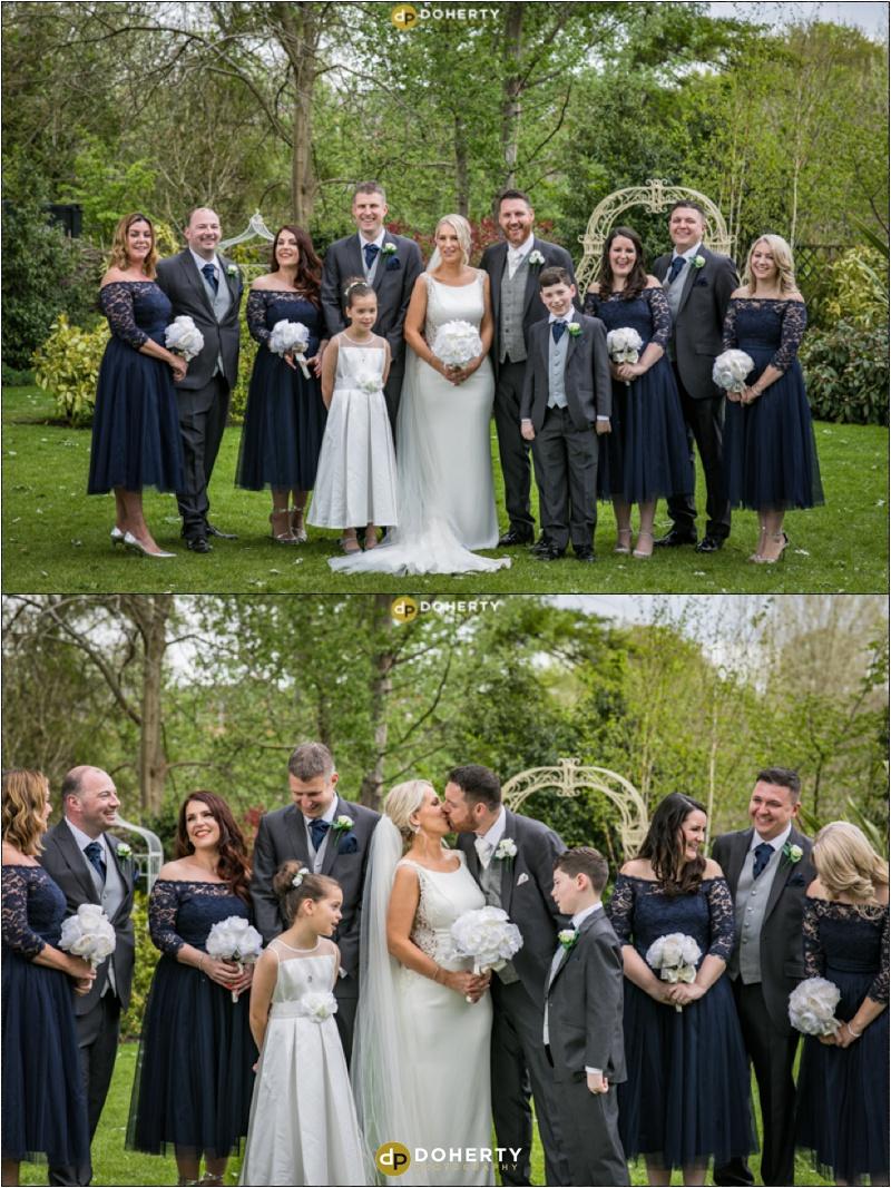 Warwick house Wedding Bridal Party