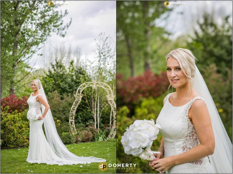 Warwick house Wedding Bride
