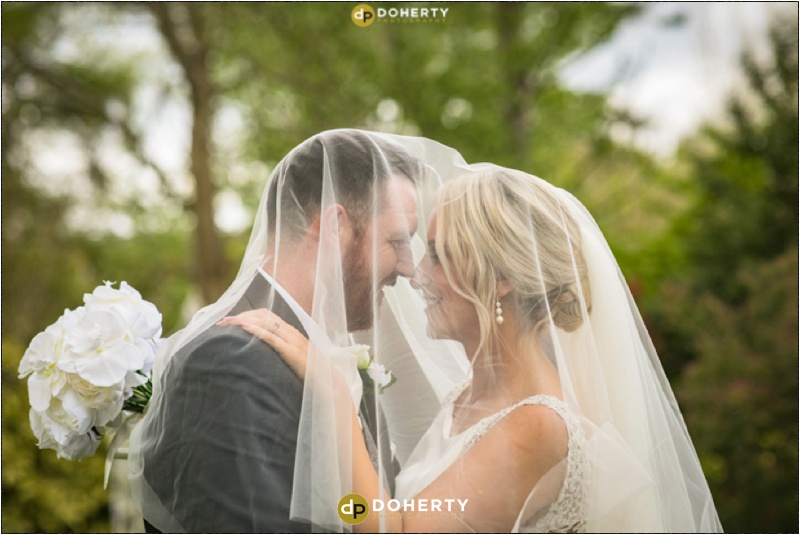 Warwick house Wedding Veil Photo