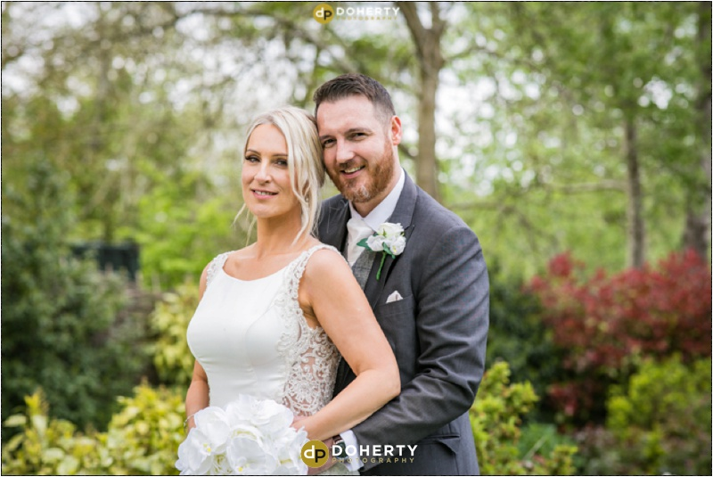 Warwick house Wedding Bride and Groom