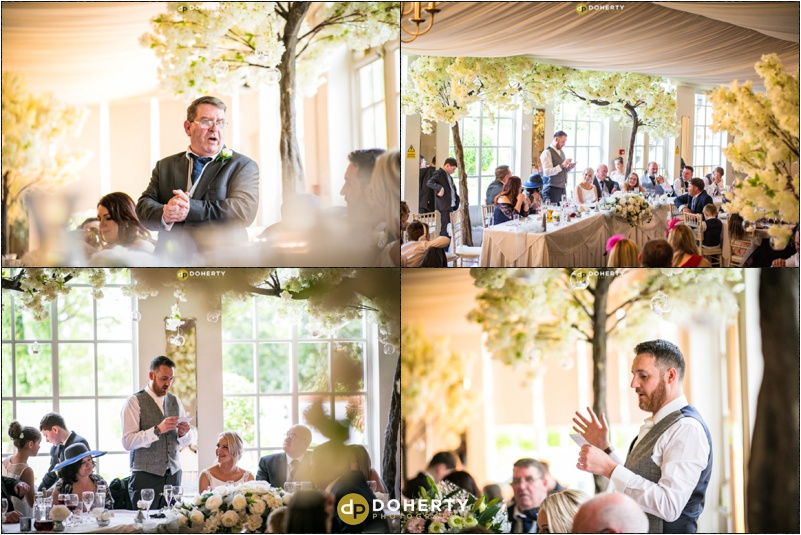 Warwick house Wedding Speech photo
