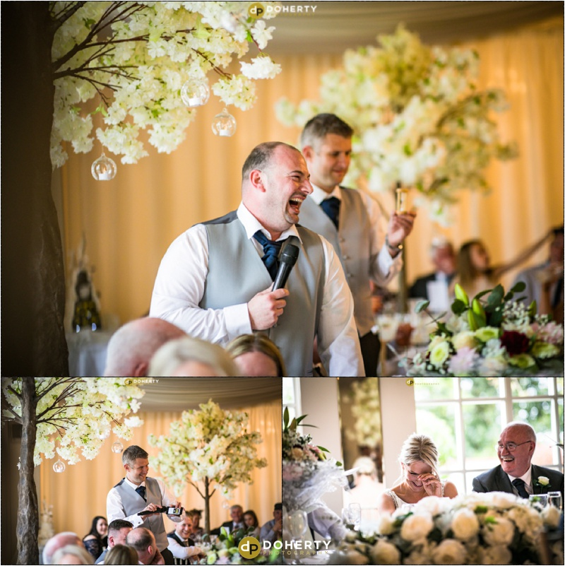 Warwick house Wedding Speeches