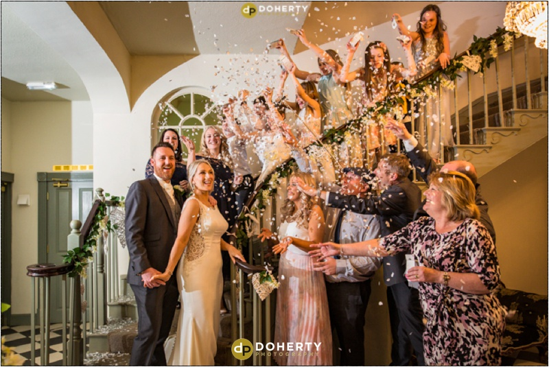 Warwick house Wedding Confetti