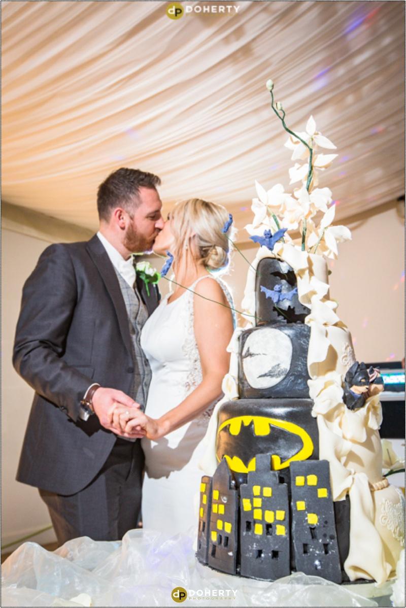 Warwick house Wedding Cake Cutting
