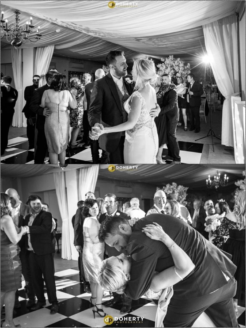 Warwick house Wedding Dancing