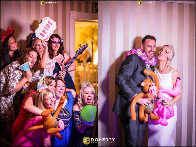 Warwick house Wedding party